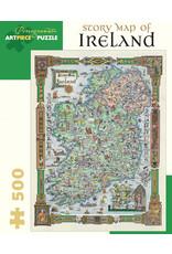 Pomegranate Story Map of Ireland 500pc