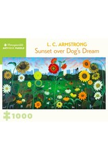 Pomegranate Puzzles Sunset over Dog's Dream 1000pc
