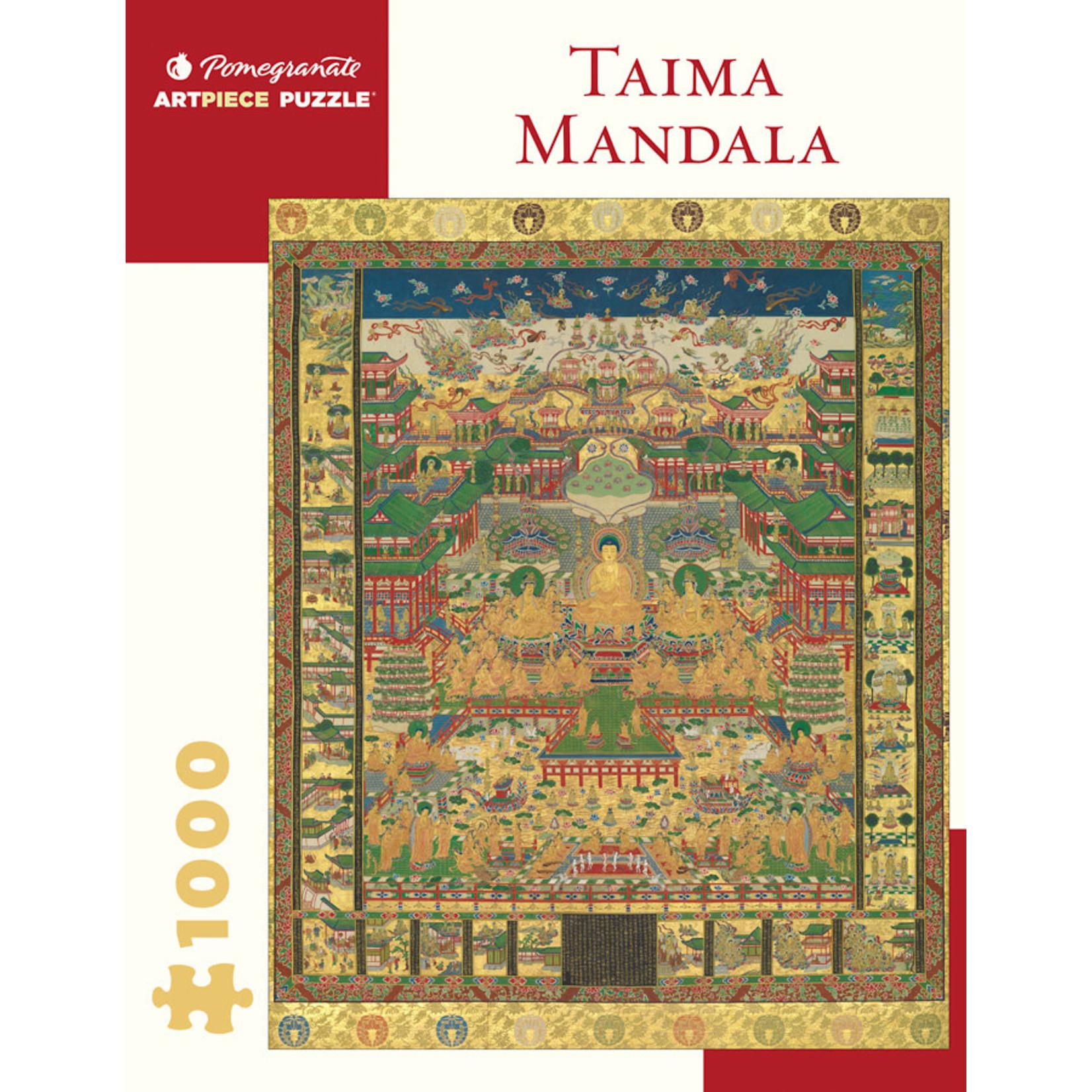 Pomegranate Puzzles Taima Mandala 1000pc
