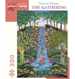 Pomegranate Puzzles The Gathering 300pc