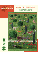 Pomegranate Puzzles The Menagerie 500pc