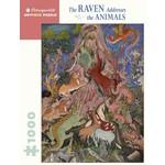 Pomegranate Puzzles The Raven Addresses the Animals 1000pc