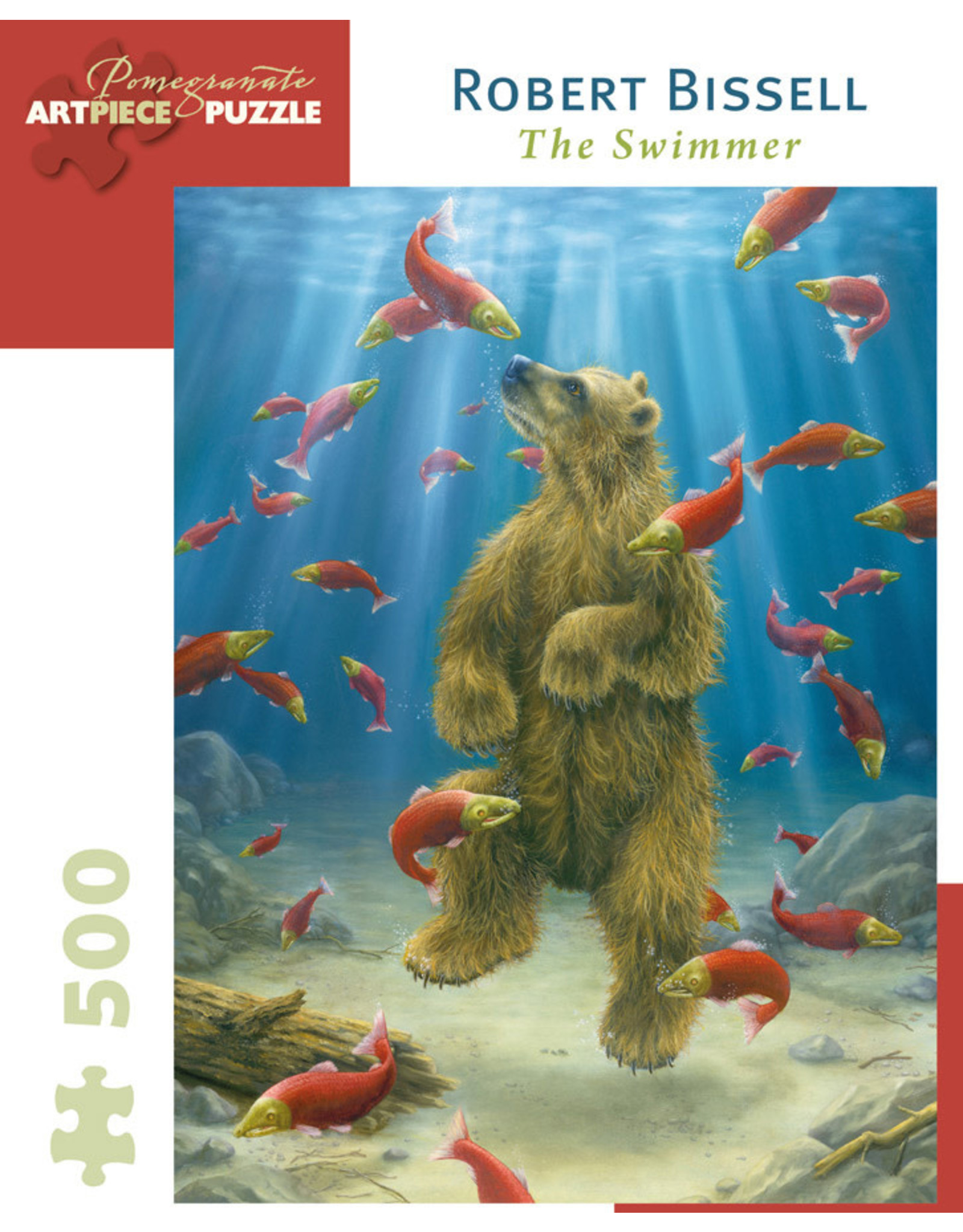 Pomegranate Puzzles The Swimmer 500pc