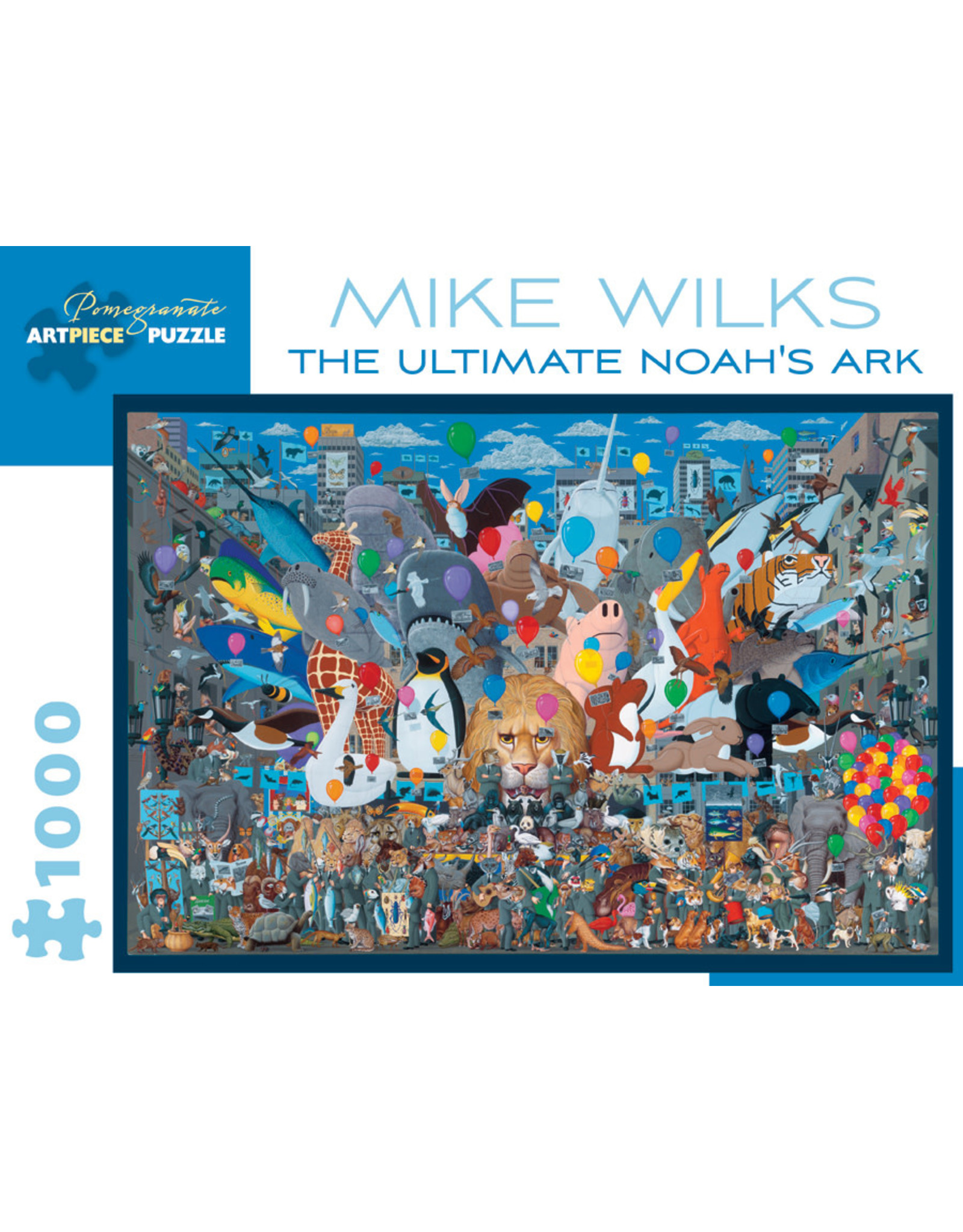 Pomegranate Puzzles The Ultimate Noah's Ark 1000pc