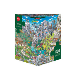 Heye Puzzles Alpine Fun 1000pc