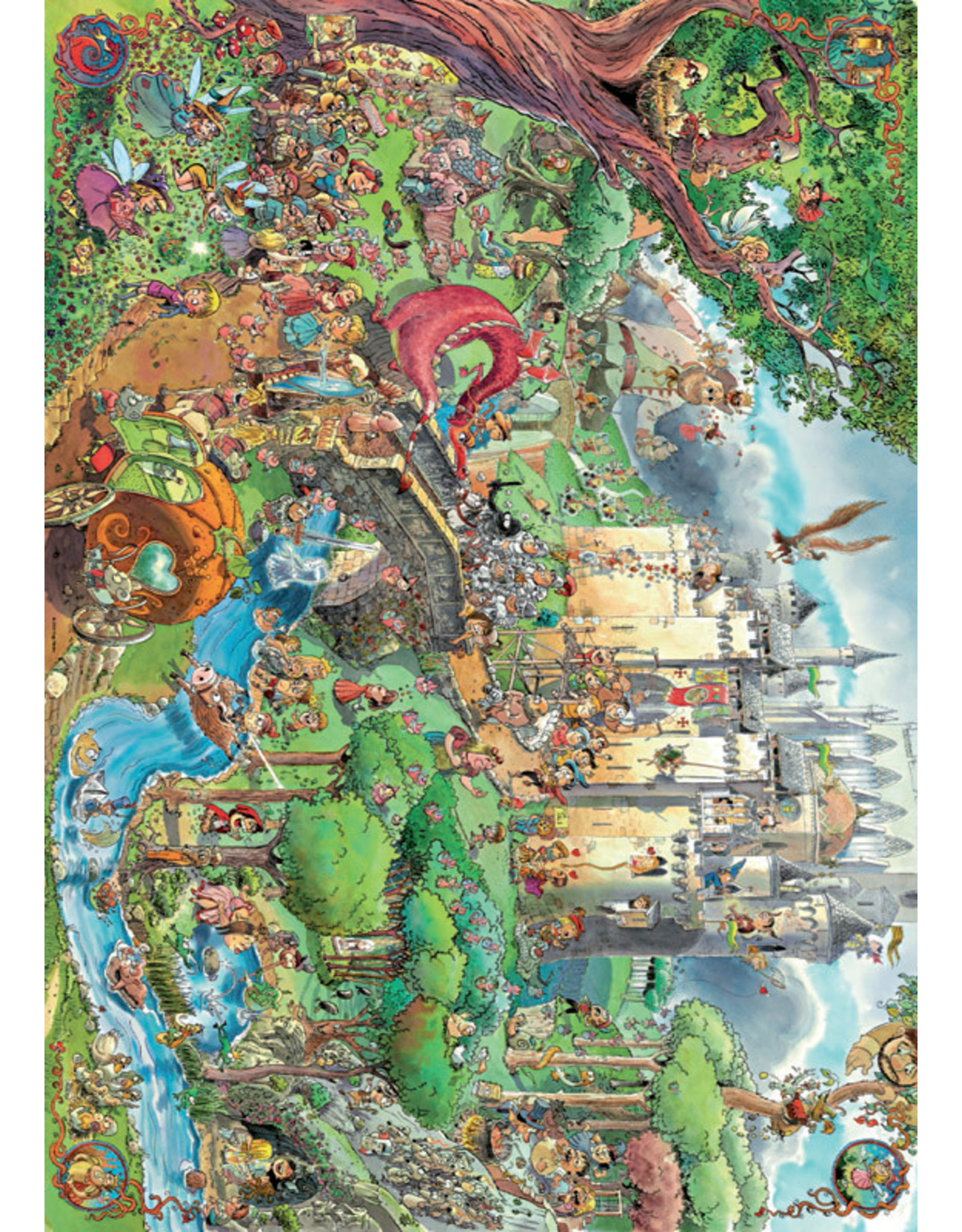 Heye Puzzles Fairy Tales 1500pc