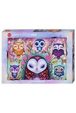 Heye Puzzles Great Big Owl 1000pc