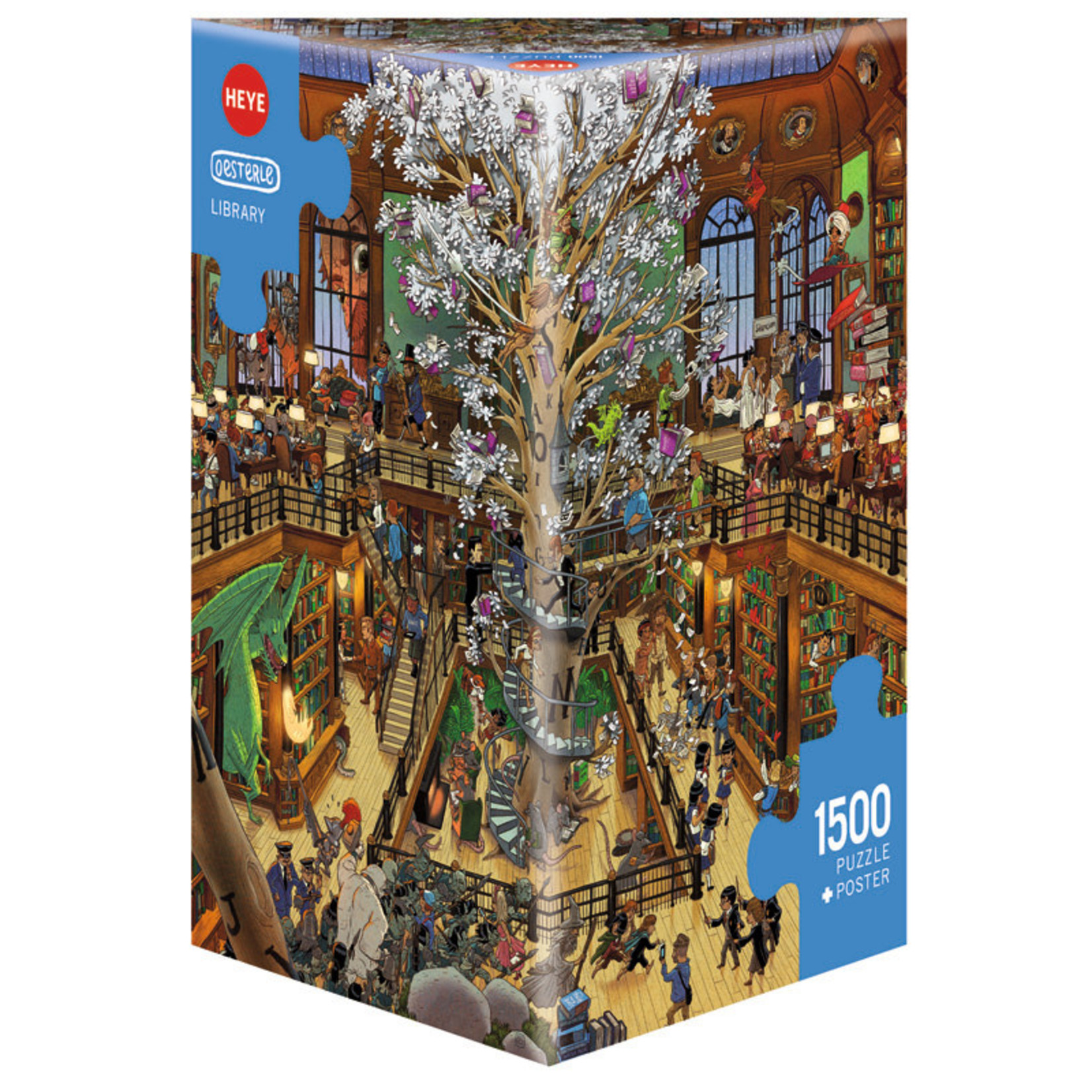 Heye Puzzles Library 1500pc