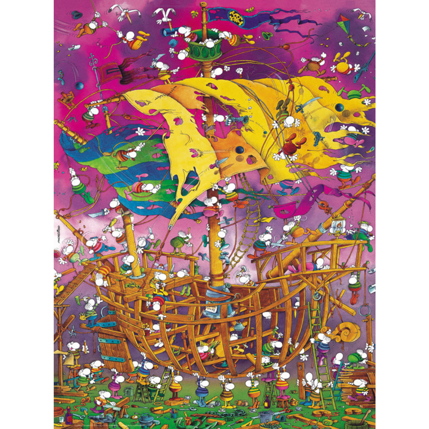 Heye Puzzles Save the Ship 1500pc