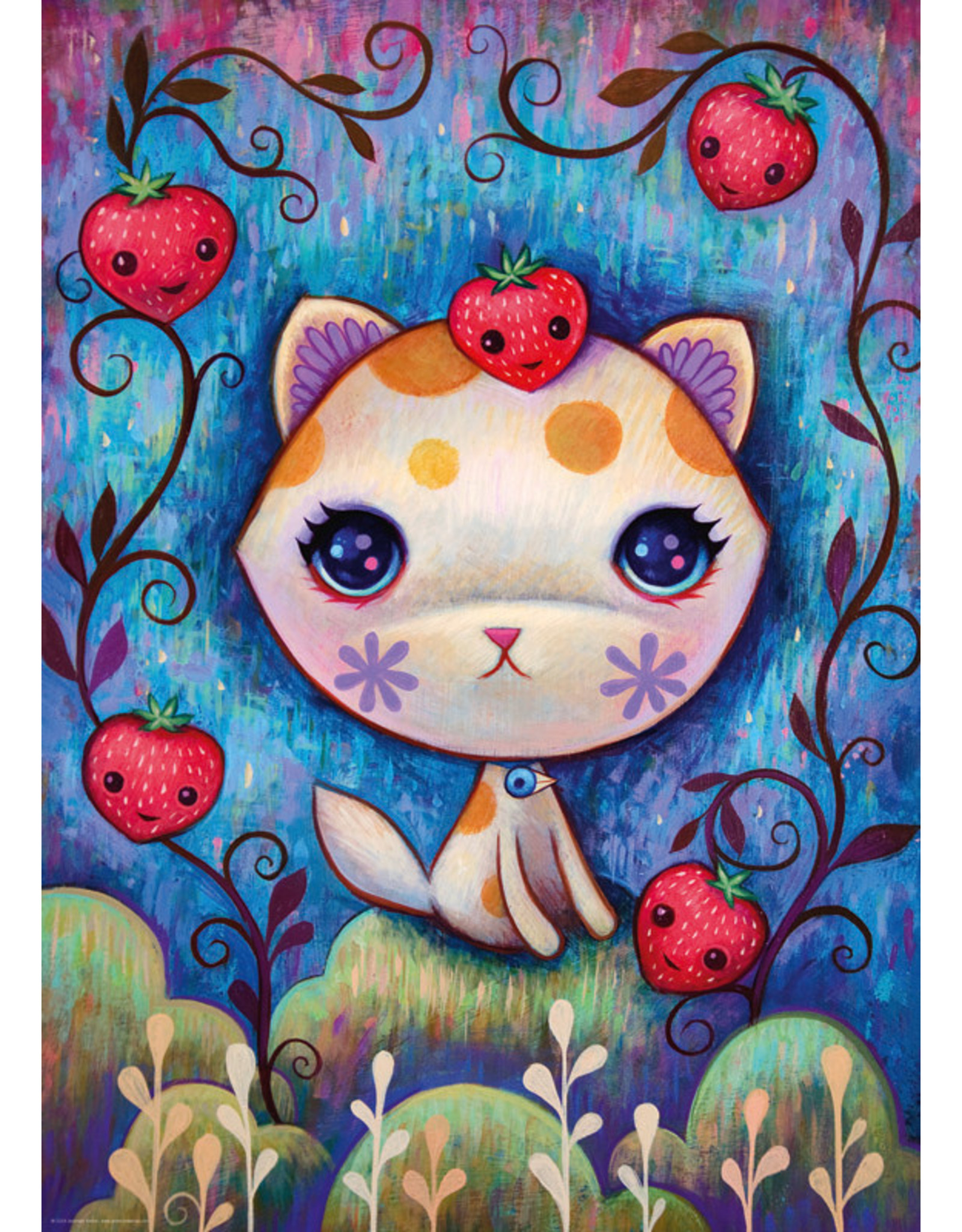 Heye Puzzles Strawberry Kitty 1000pc