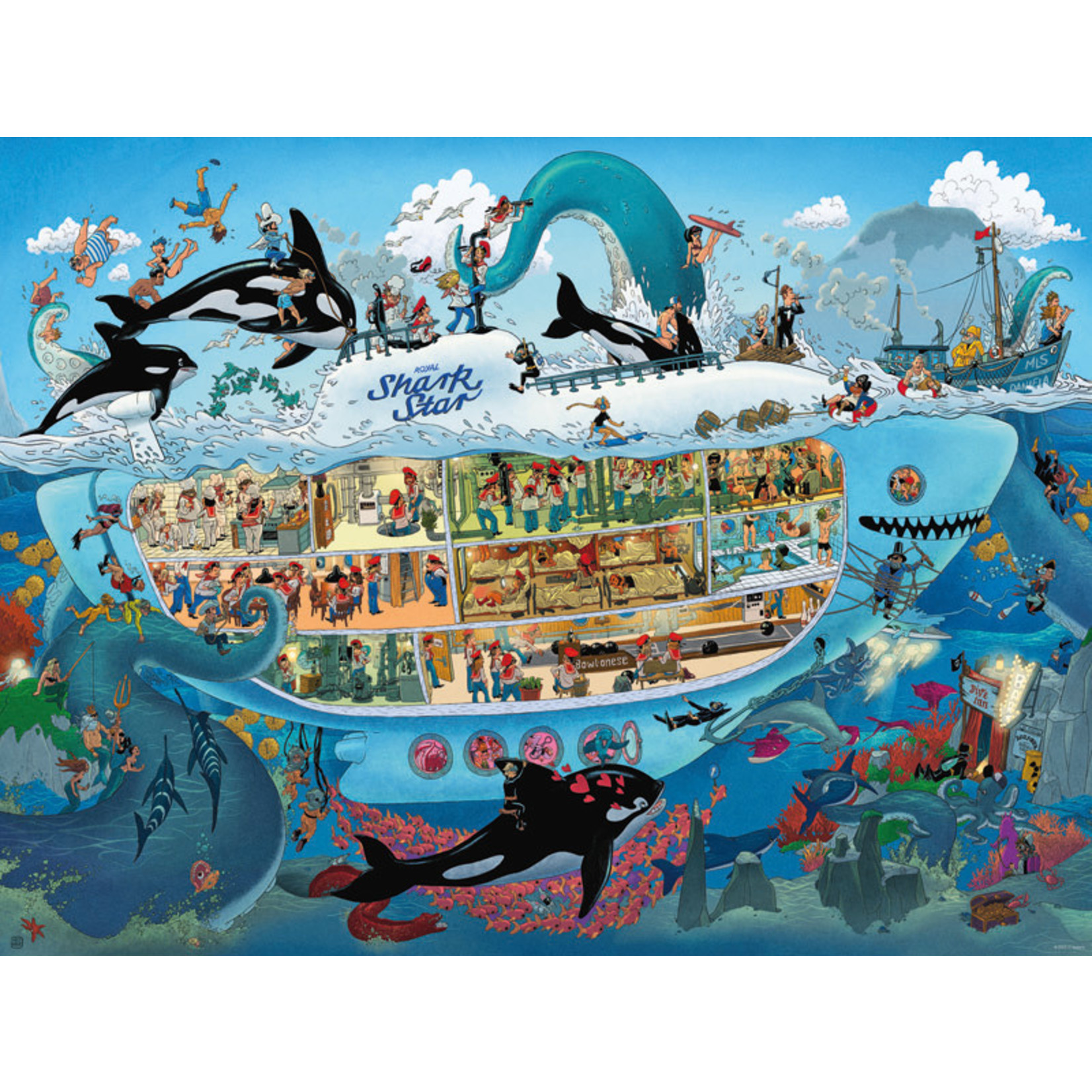 Heye Puzzles Submarine Fun 1500pc