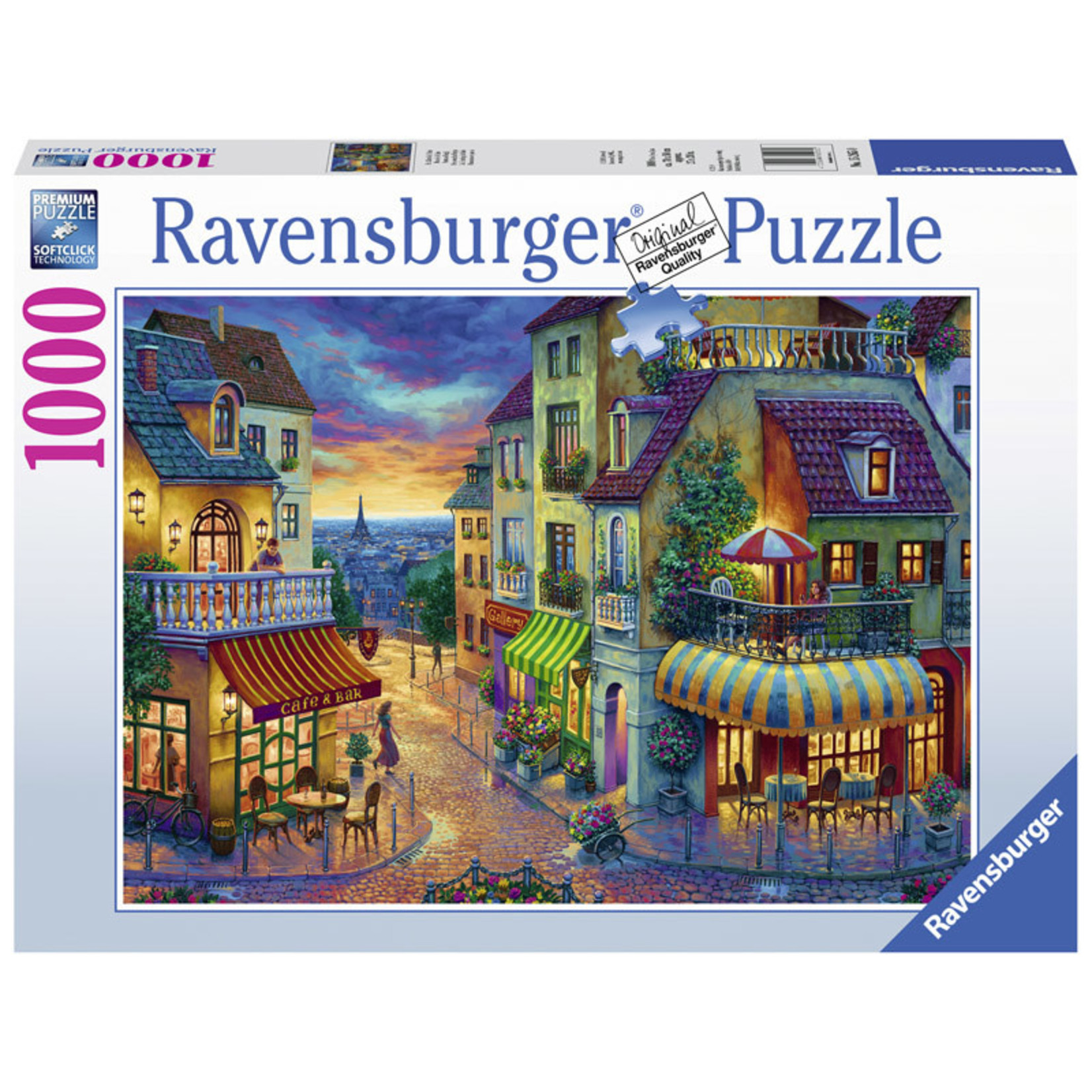 Ravensburger An Evening in Paris 1000pc
