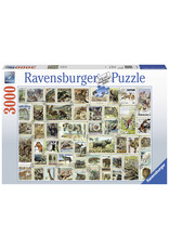 Ravensburger Animal Stamps 3000pc