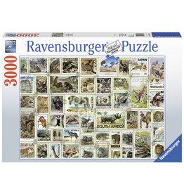 Ravensburger Animal Stamps 3000pc