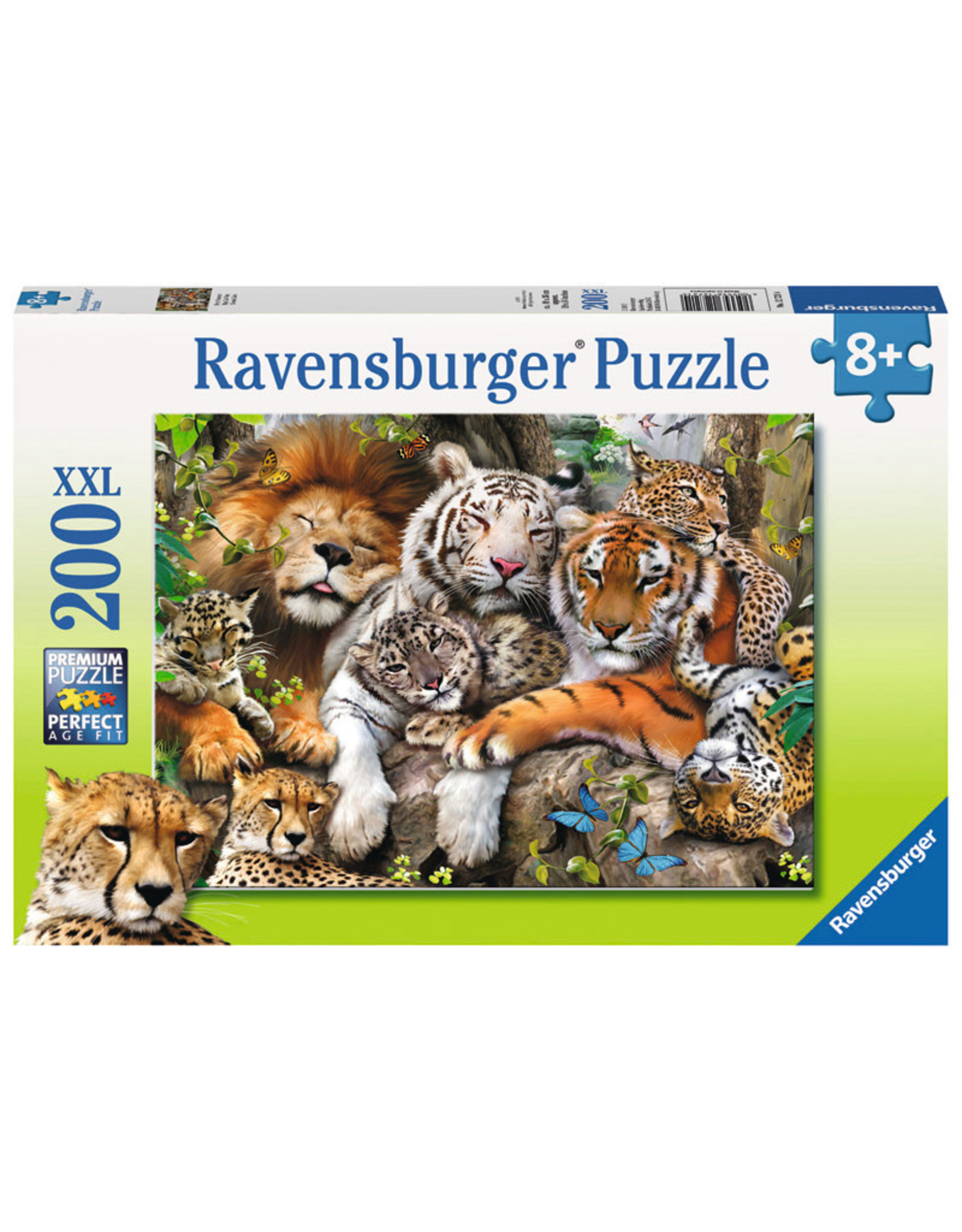 Ravensburger Big Cat Nap 200pc