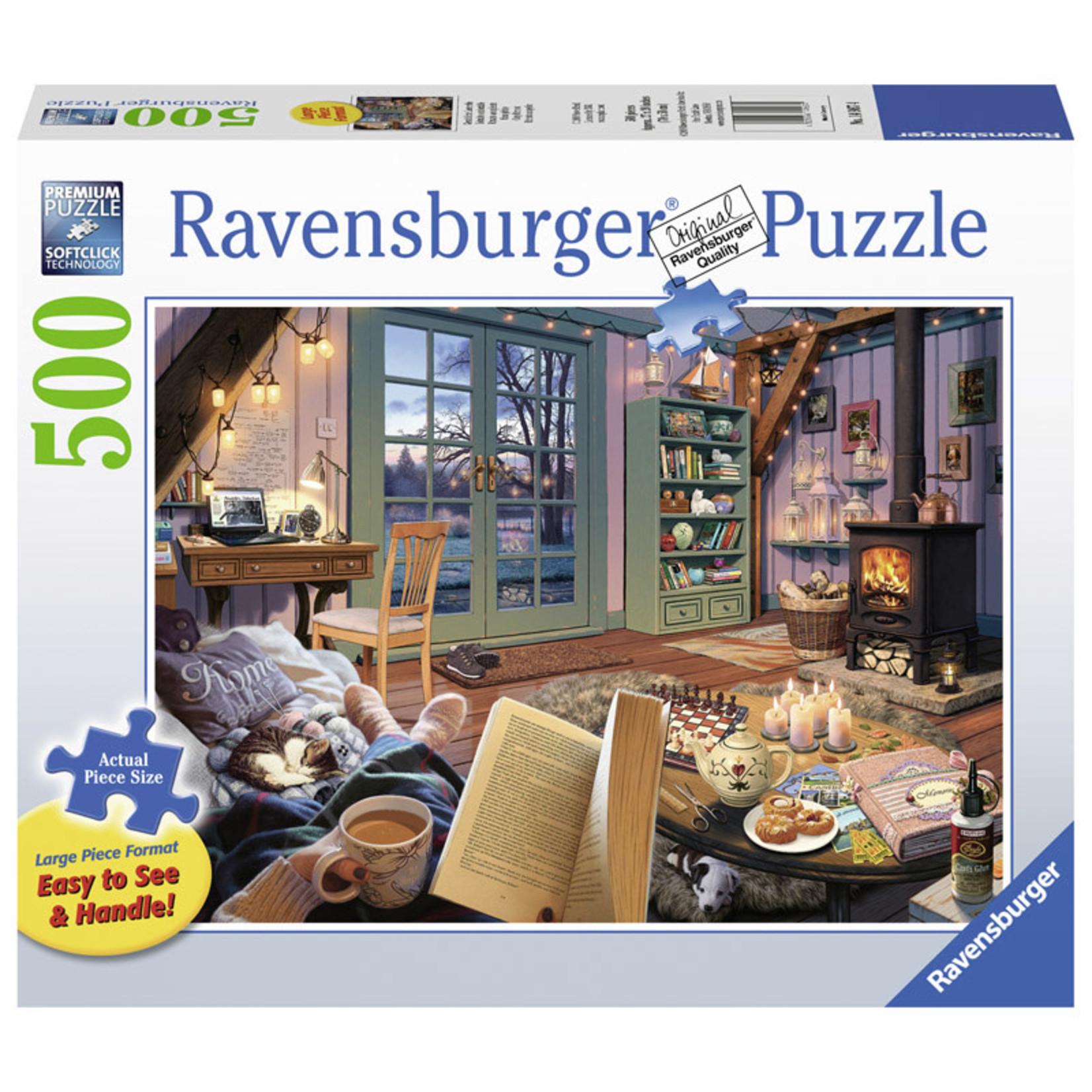 Ravensburger Cozy Retreat LP 500pc