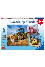 Ravensburger Diggers at Work 49pc