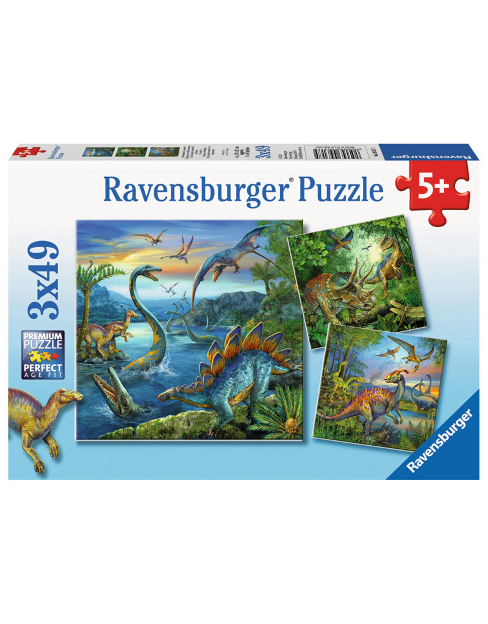 Ravensburger Dinosaur Fascination 3x49pc