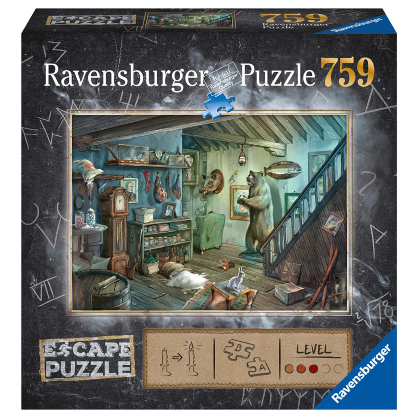 Ravensburger ESCAPE Forbidden Basement 759pc