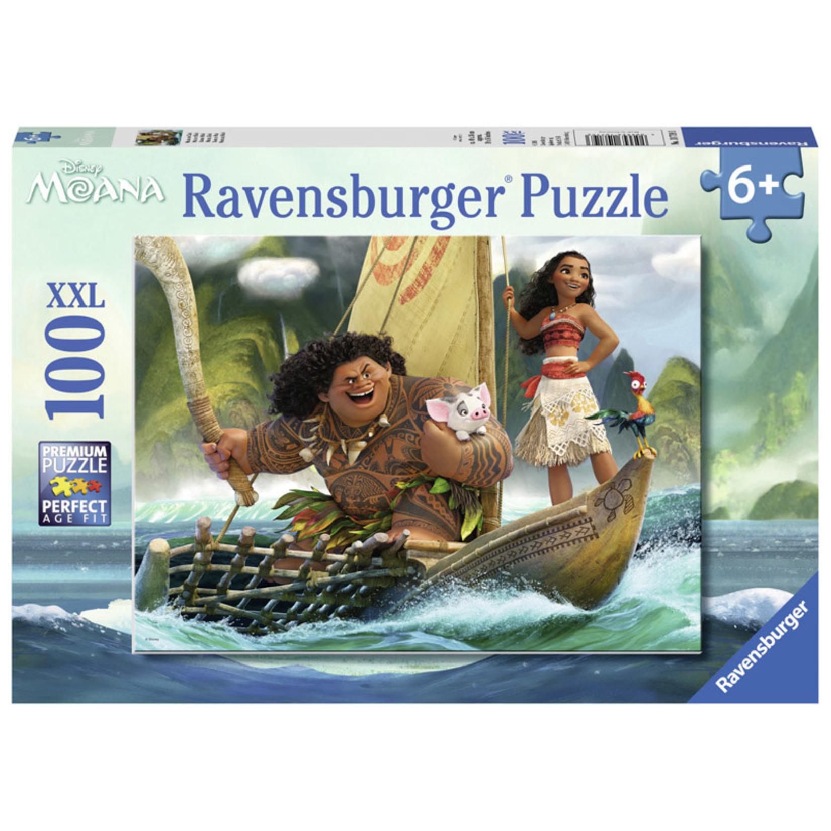 Ravensburger Moana and Maui 100pc