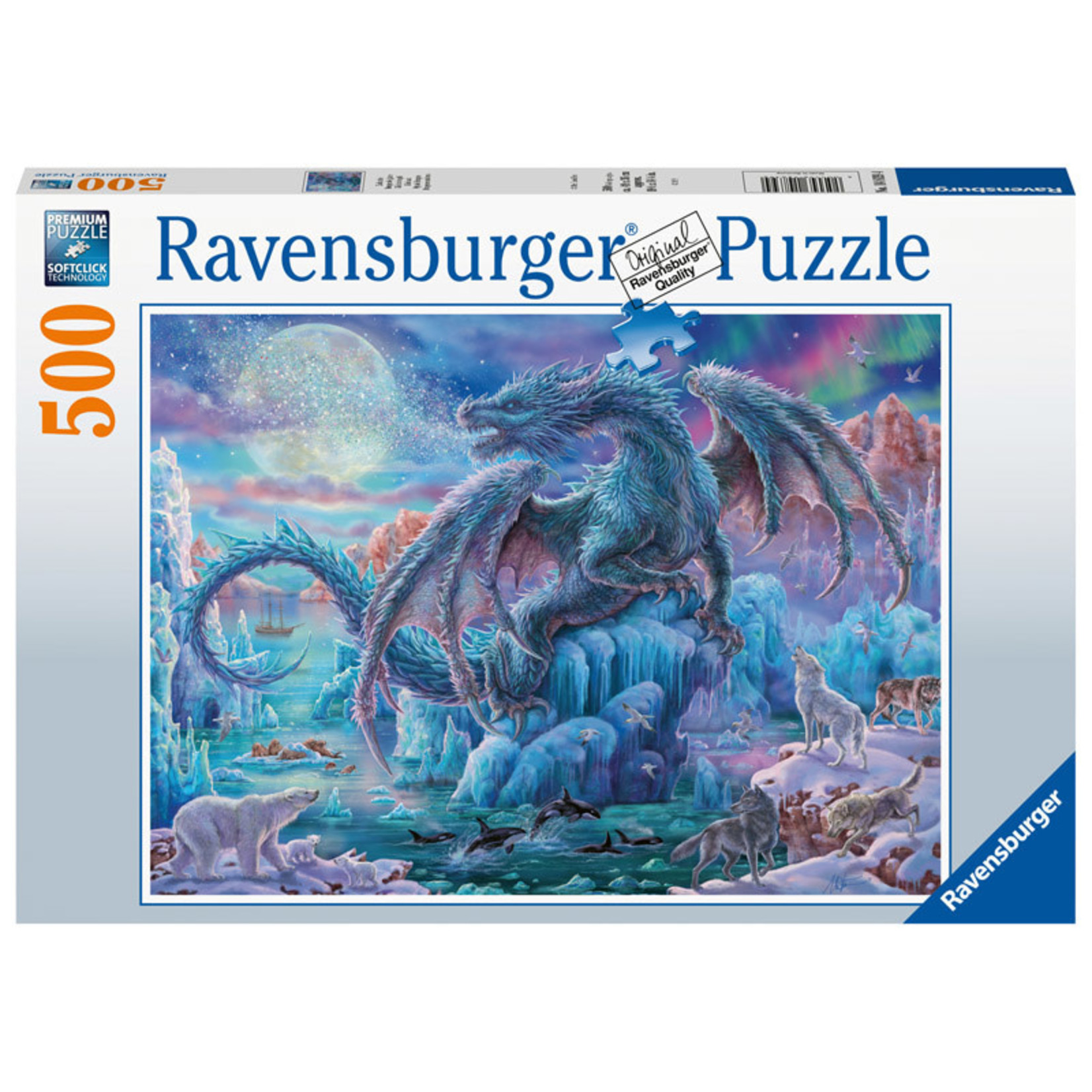 Ravensburger Mystic Dragons 500pc