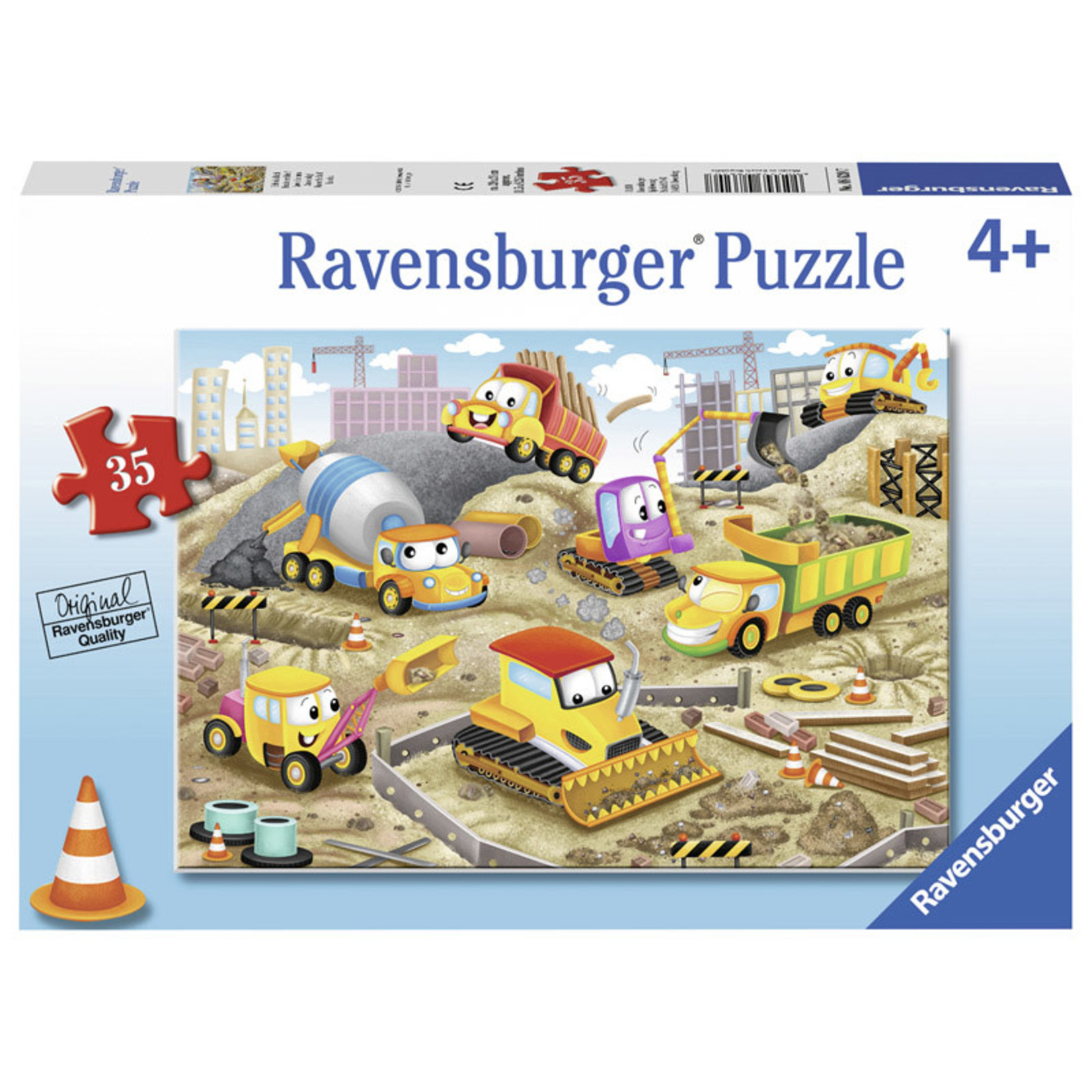 Ravensburger Raise the Roof 35pc