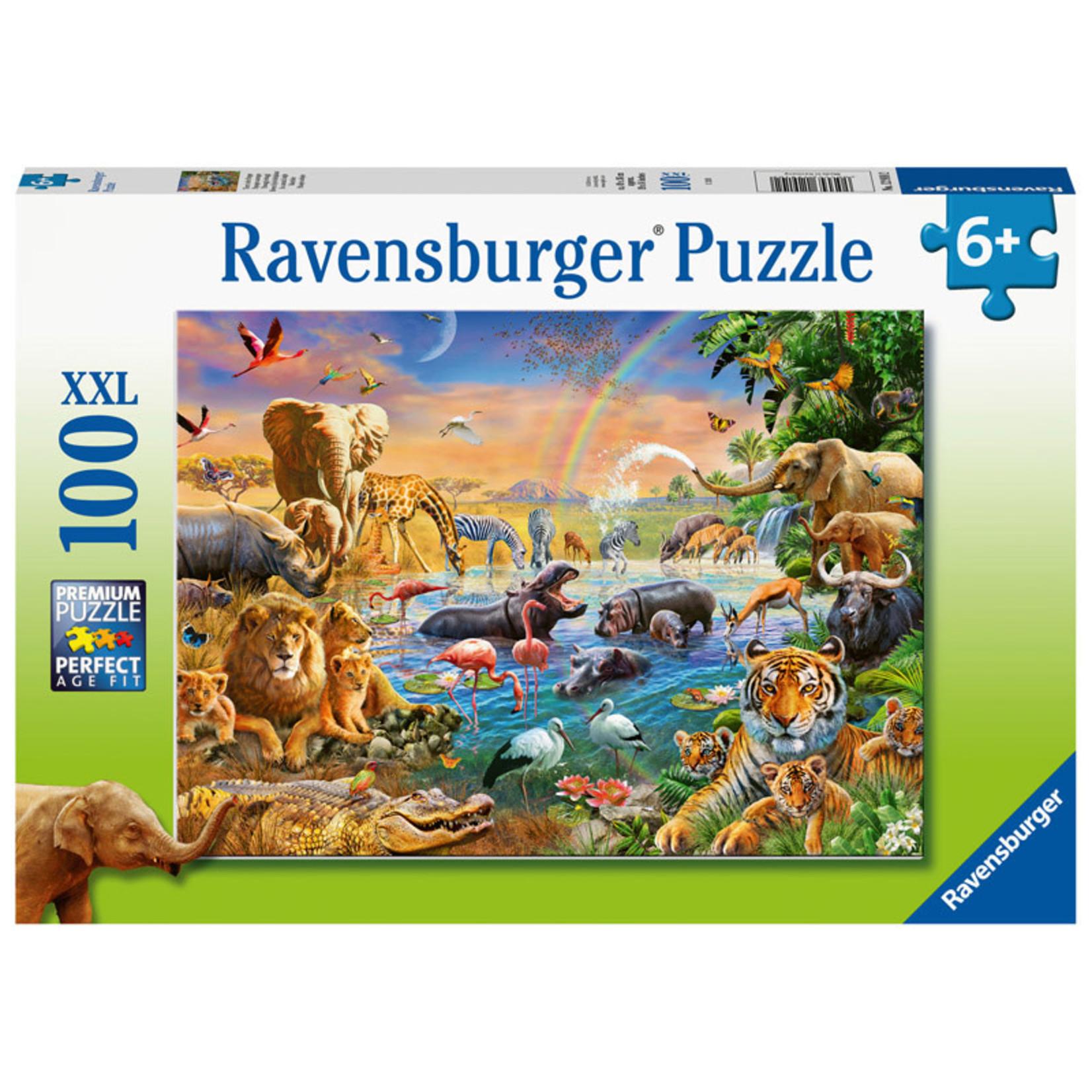 Ravensburger Savannah Jungle Waterhole 100pc