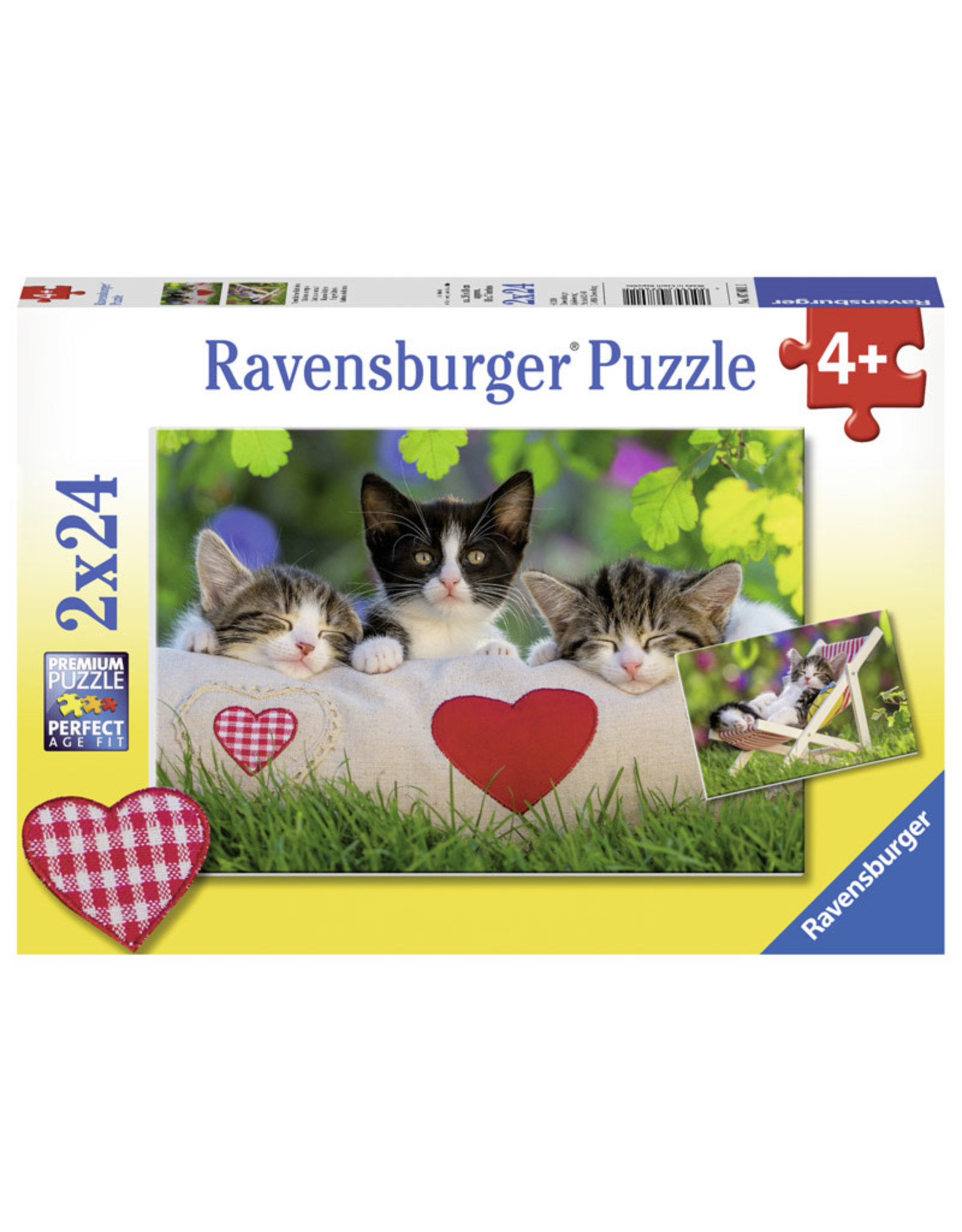 Ravensburger Sleepy Kitten 24pc
