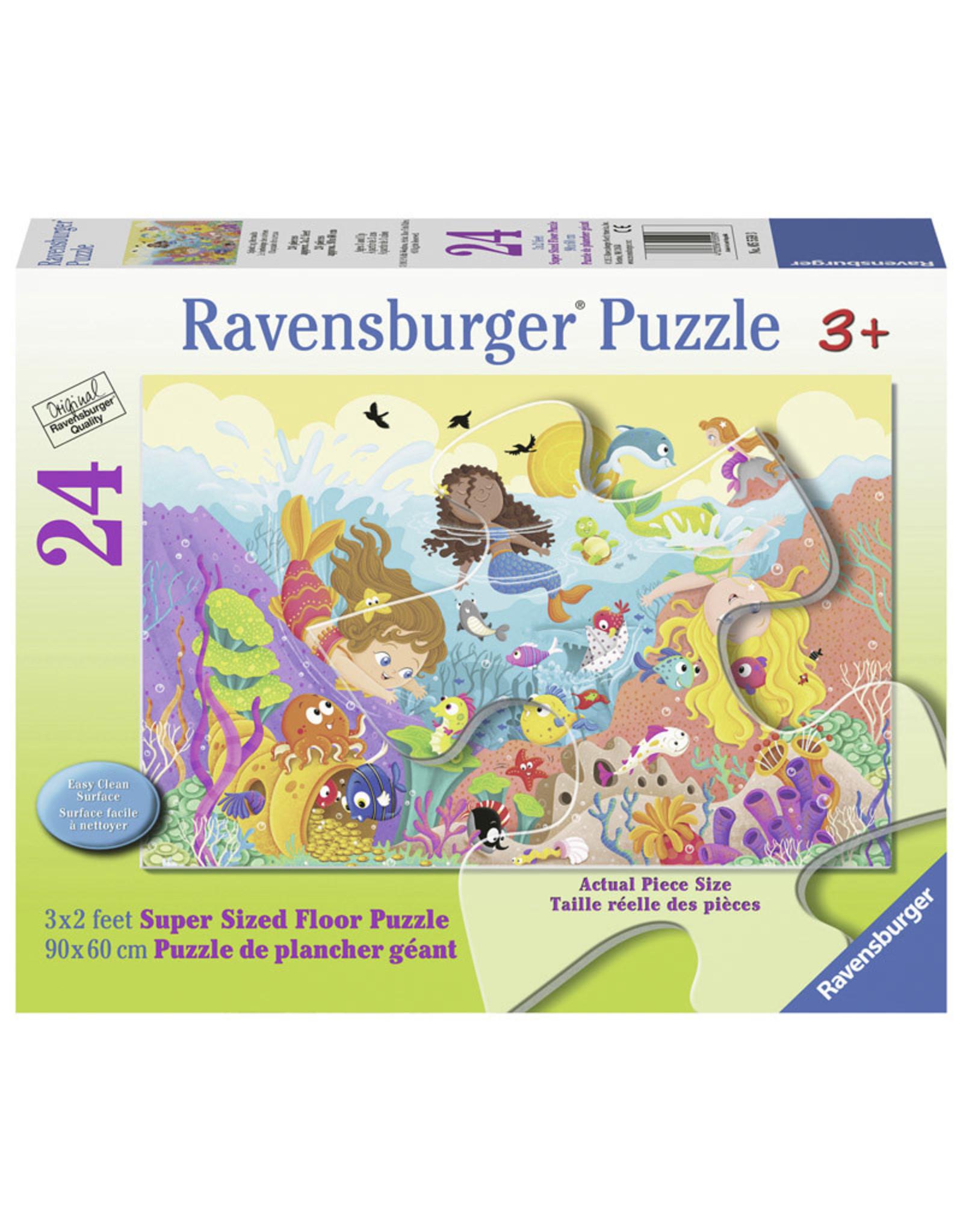 Ravensburger Splashing Mermaids 24pc