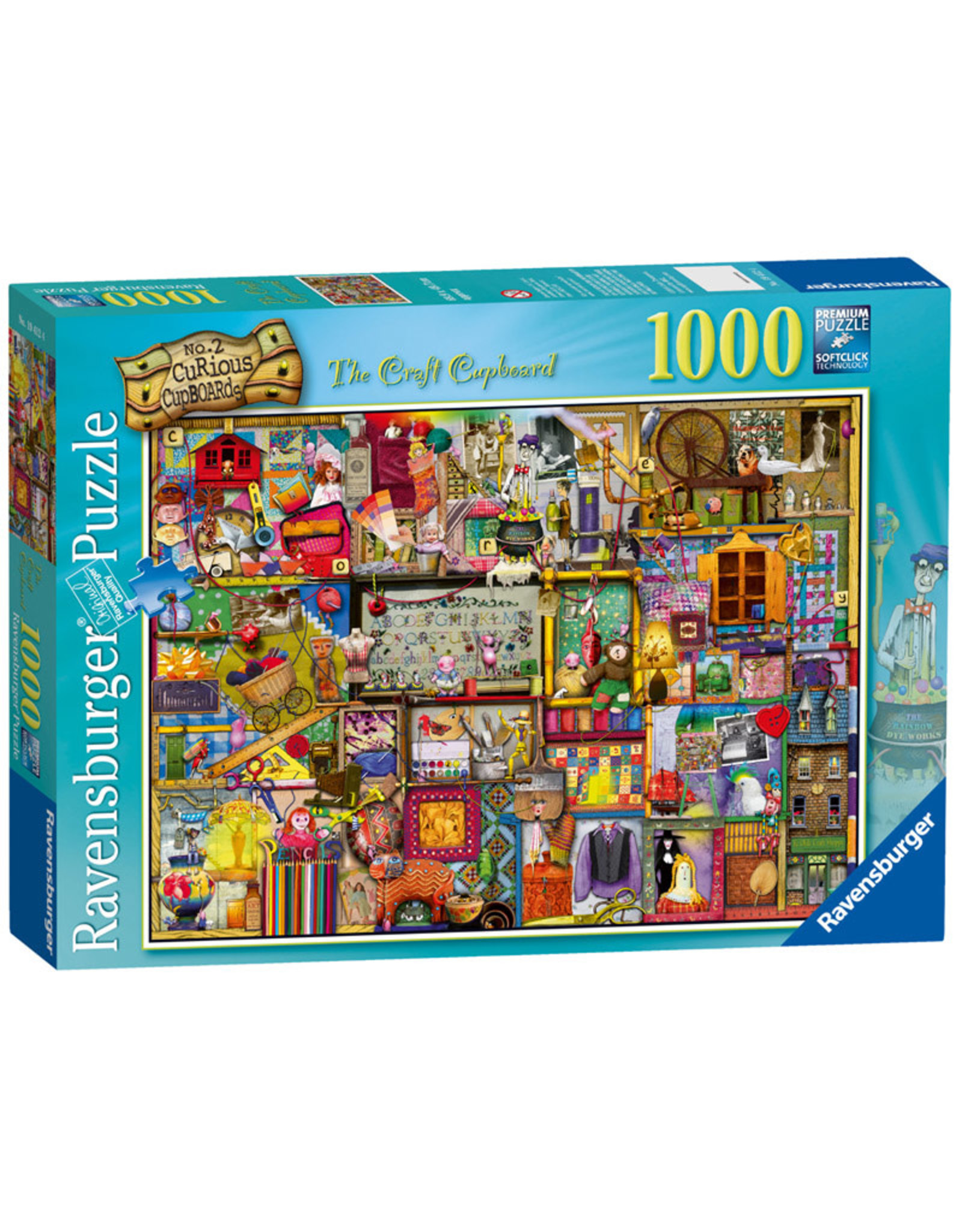 Ravensburger The Craft Cupboard 1000pc