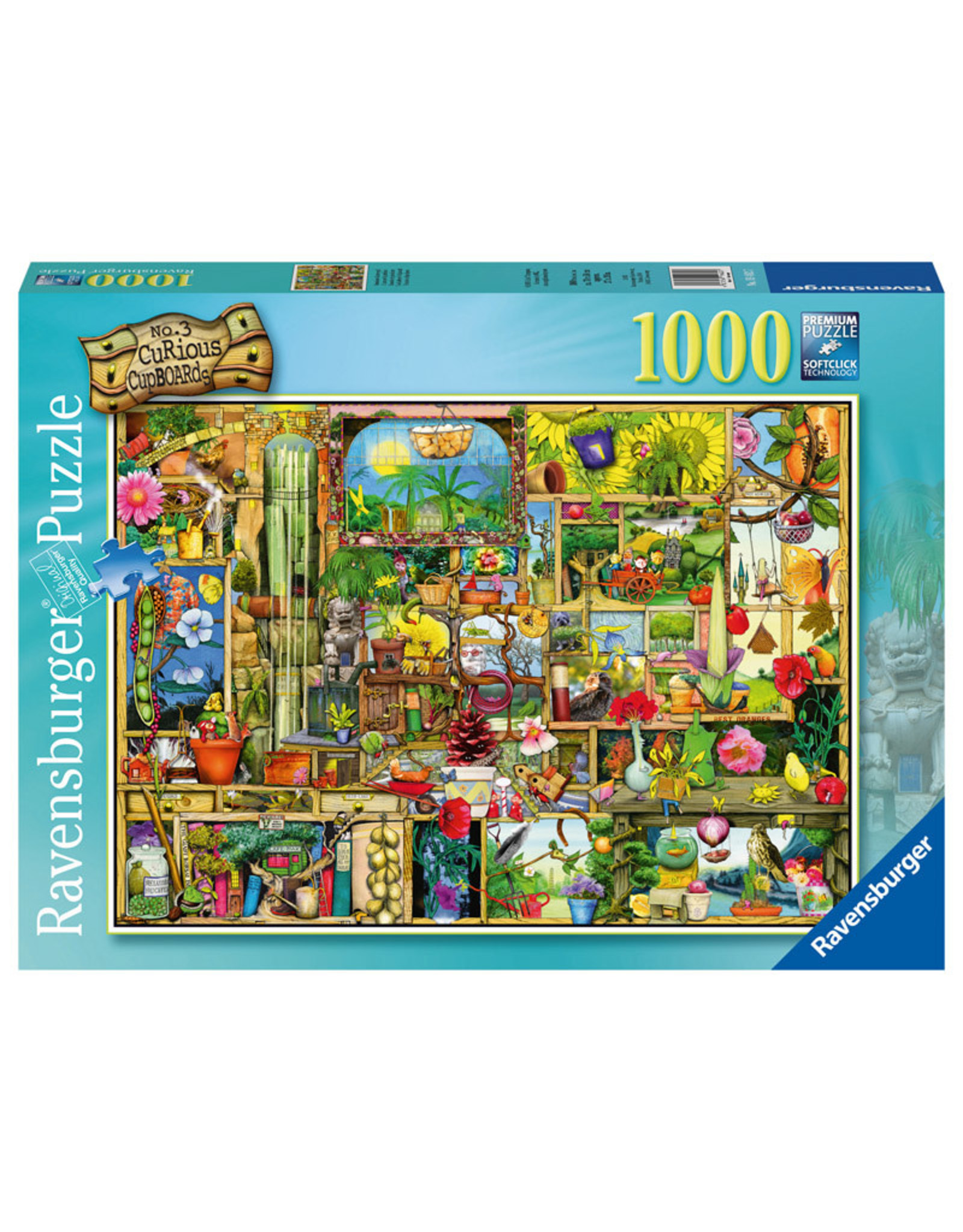Ravensburger The Gardener's Cupboard 1000pc