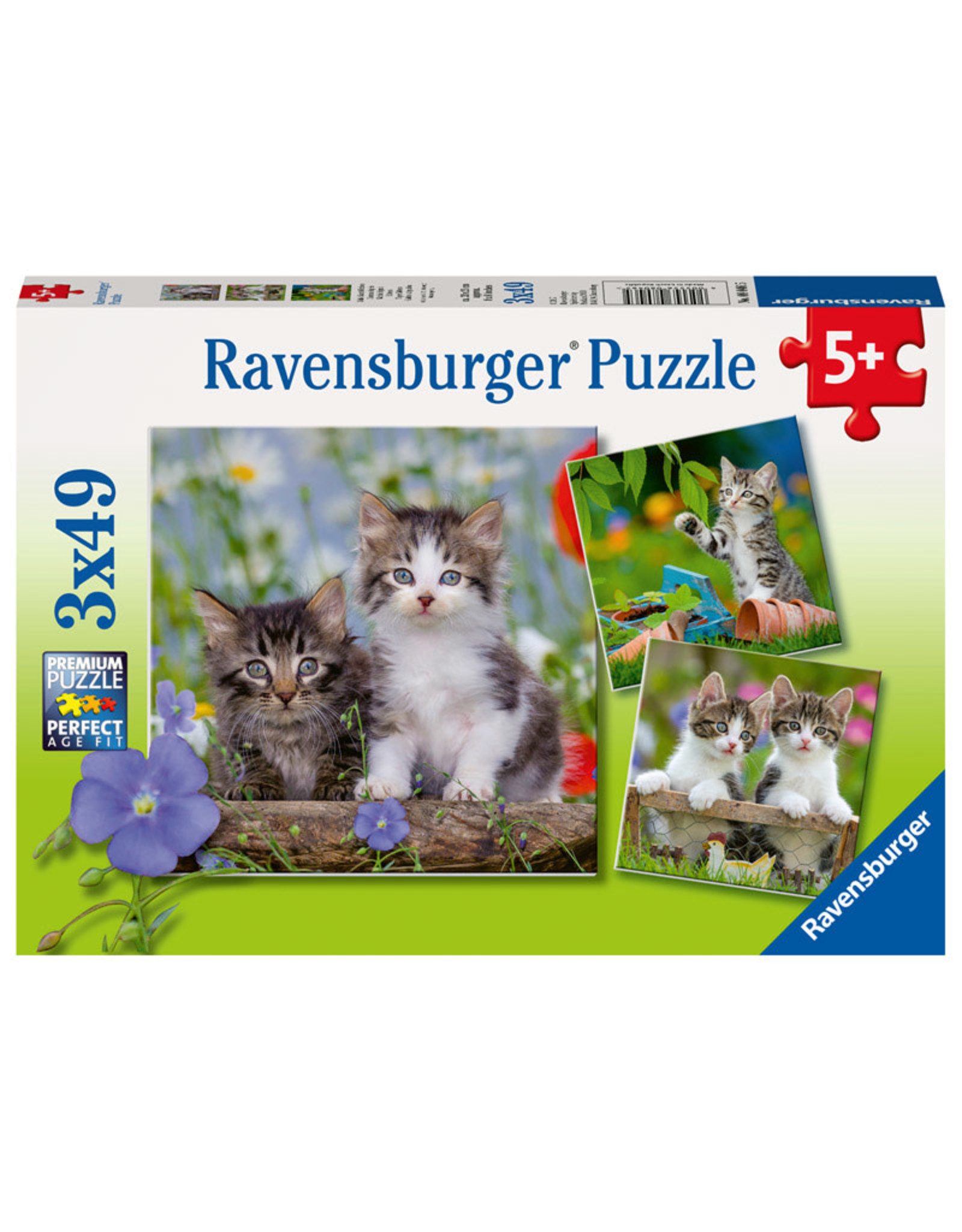 Ravensburger Tiger Kittens 3x49pc