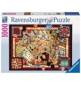 Ravensburger Vintage Games 1000pc