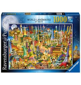 Ravensburger World Landmarks at Night 1000pc