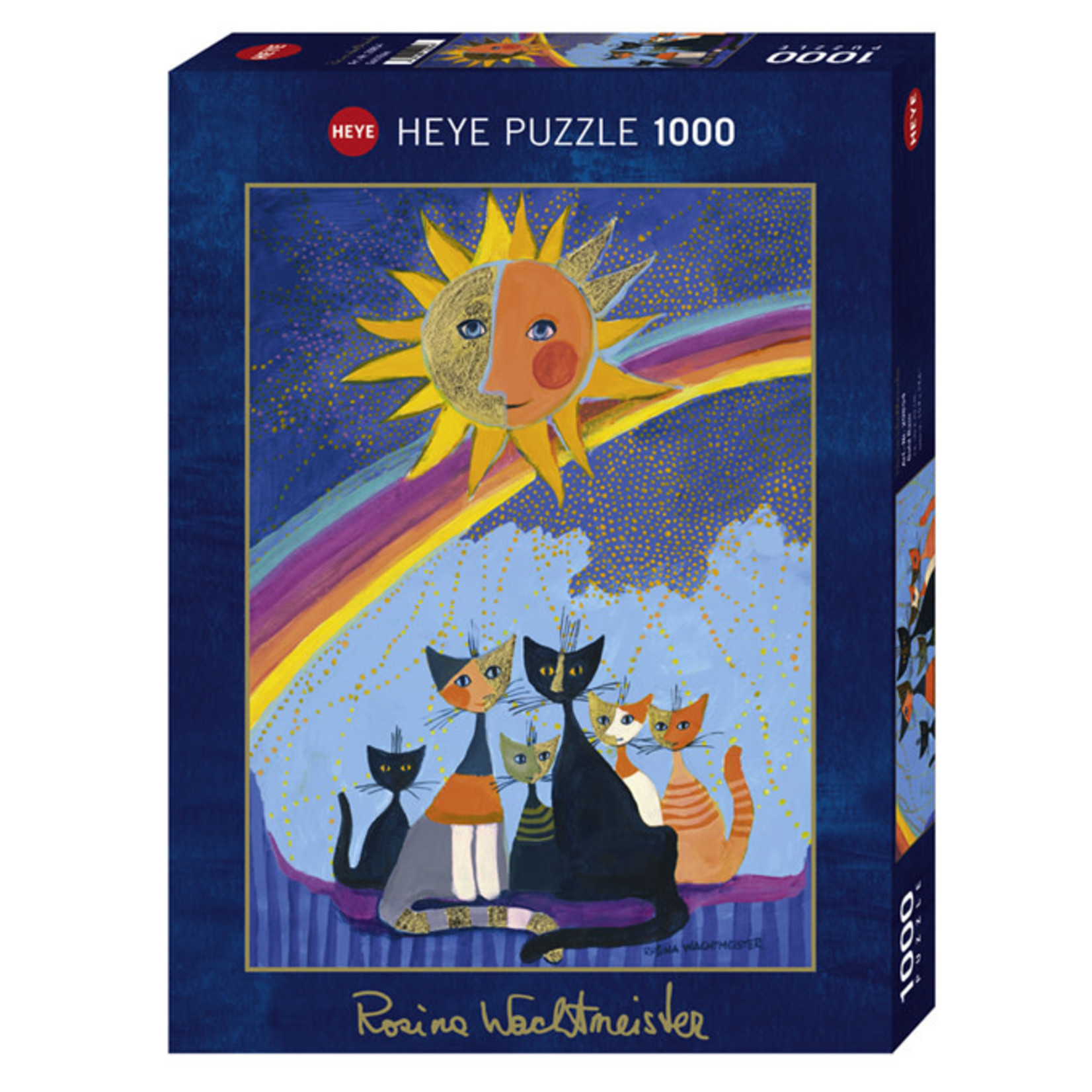 Heye Puzzles Gold Rain 1000pc