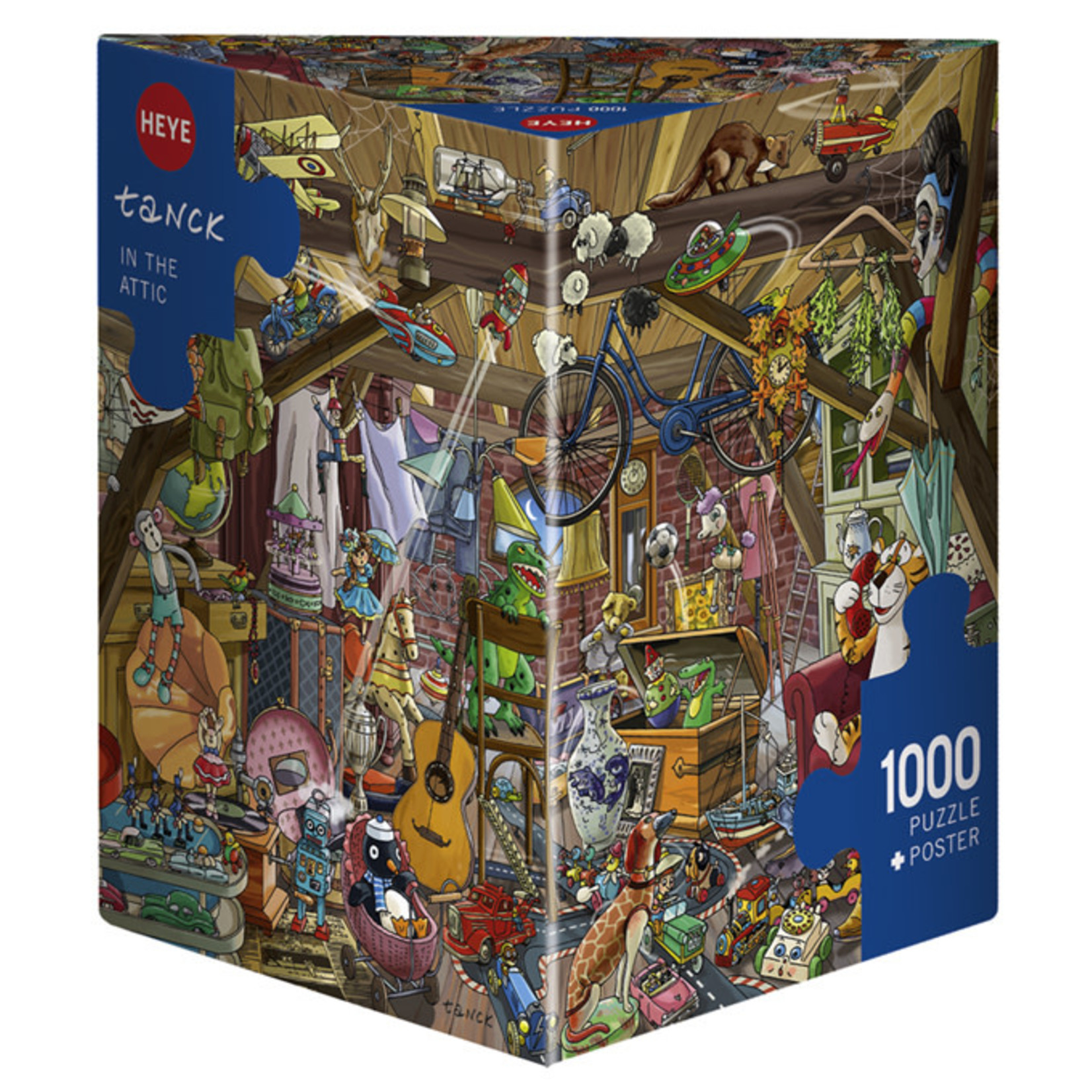 Heye Puzzles In the Attic 1000pc