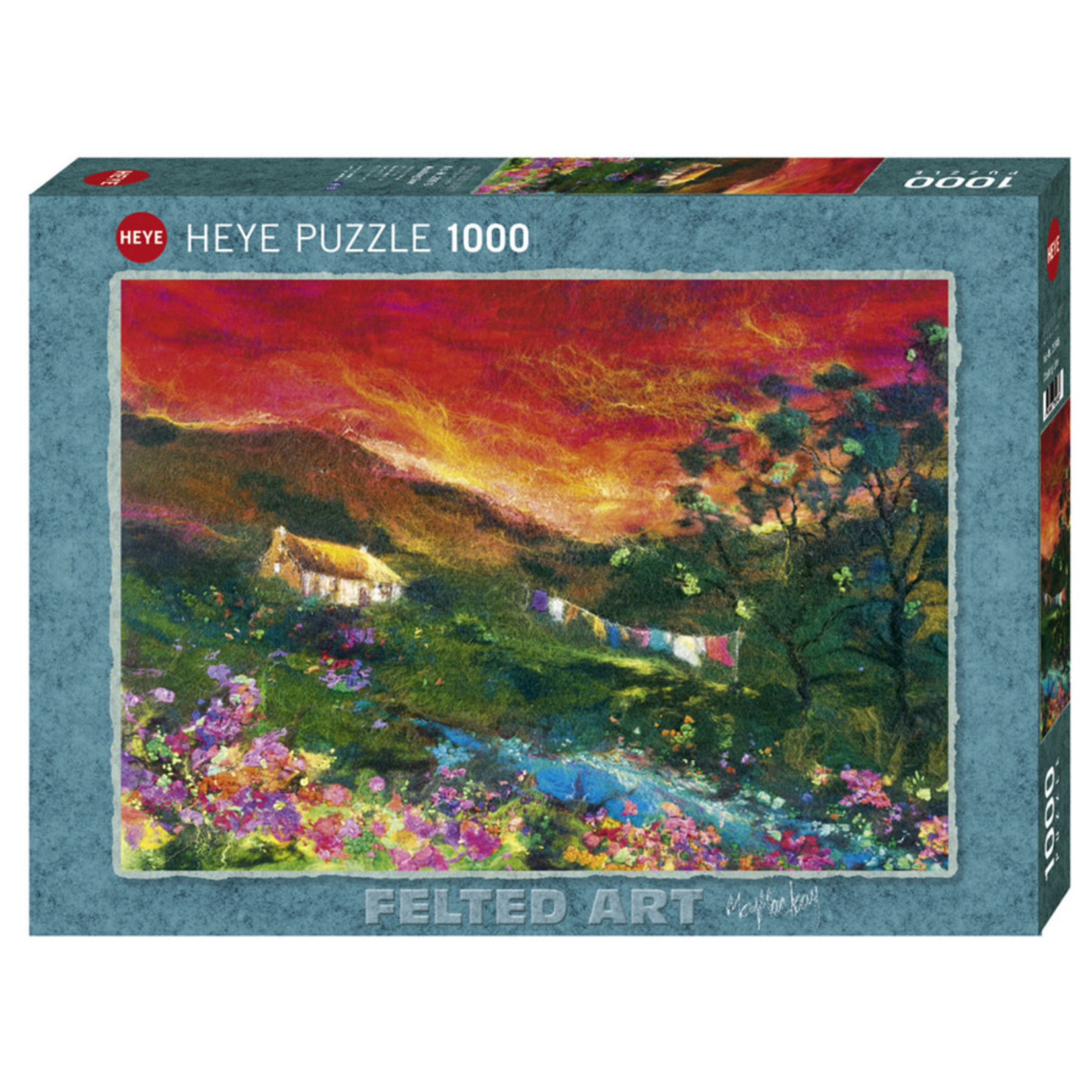 Heye Puzzles Washing Line 1000pc