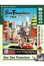 New York Puzzle Co San Francisco 1000pc