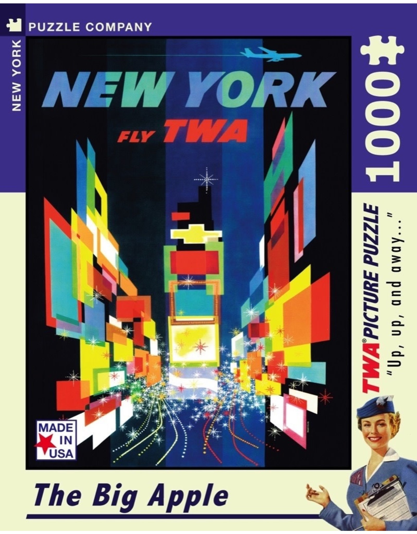 New York Puzzle Co The Big Apple 1000pc