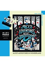 New York Puzzle Co Alice in Wonderland Mini 100pc