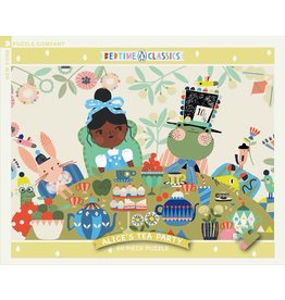 New York Puzzle Co Alice's Tea Party 60pc