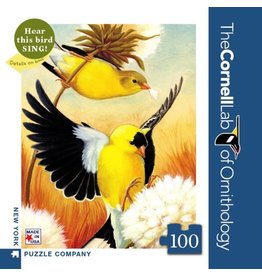 New York Puzzle Co American Goldfinch Mini 100pc