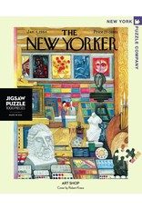 New York Puzzle Co Art Shop 1000pc