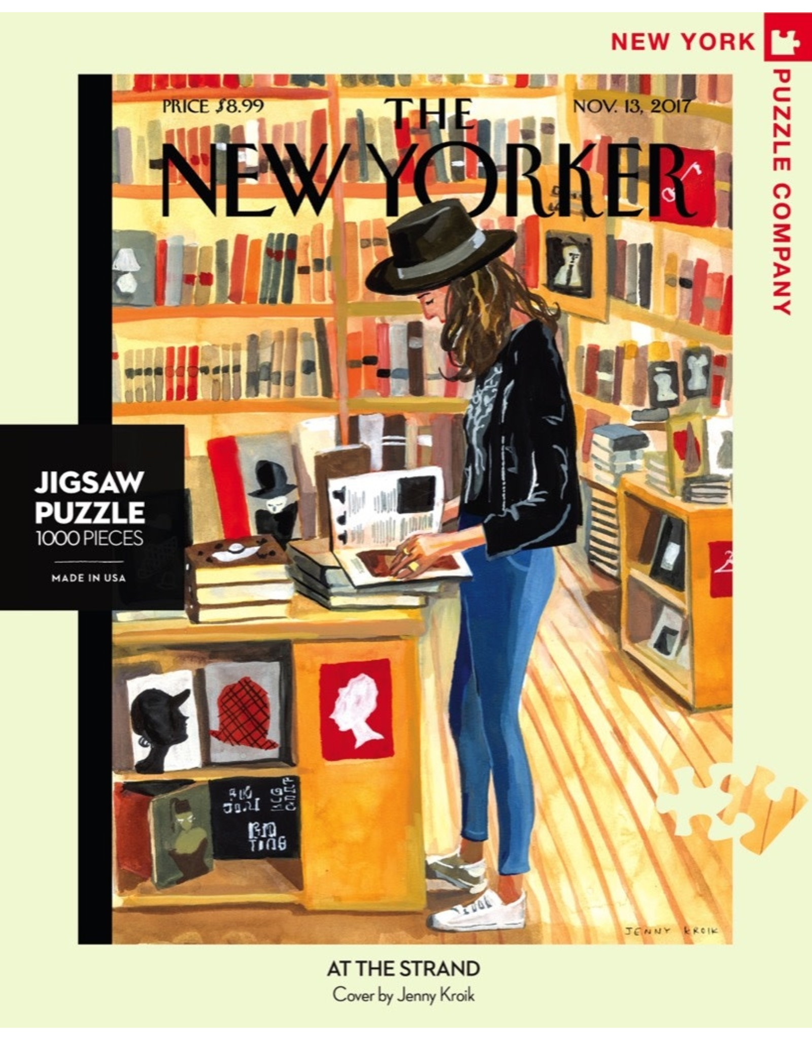 New York Puzzle Co At the Strand 1000pc