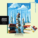 New York Puzzle Co Bookopolis Mini 100pc