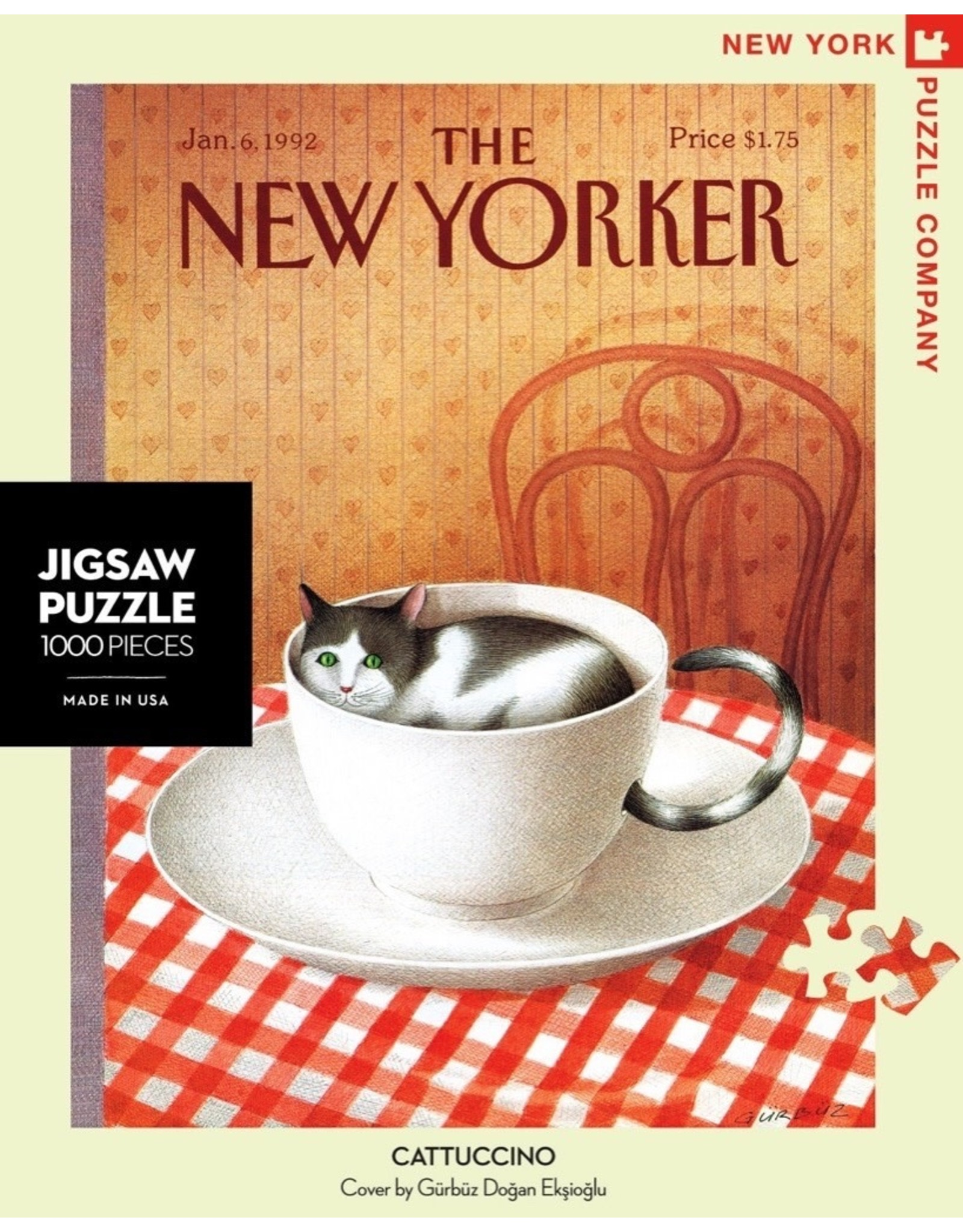 New York Puzzle Co Cattuccino 1000pc