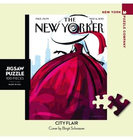 New York Puzzle Co City Flair Mini 100pc