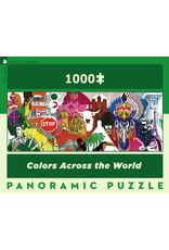 New York Puzzle Co Colors Across the World 1000pc