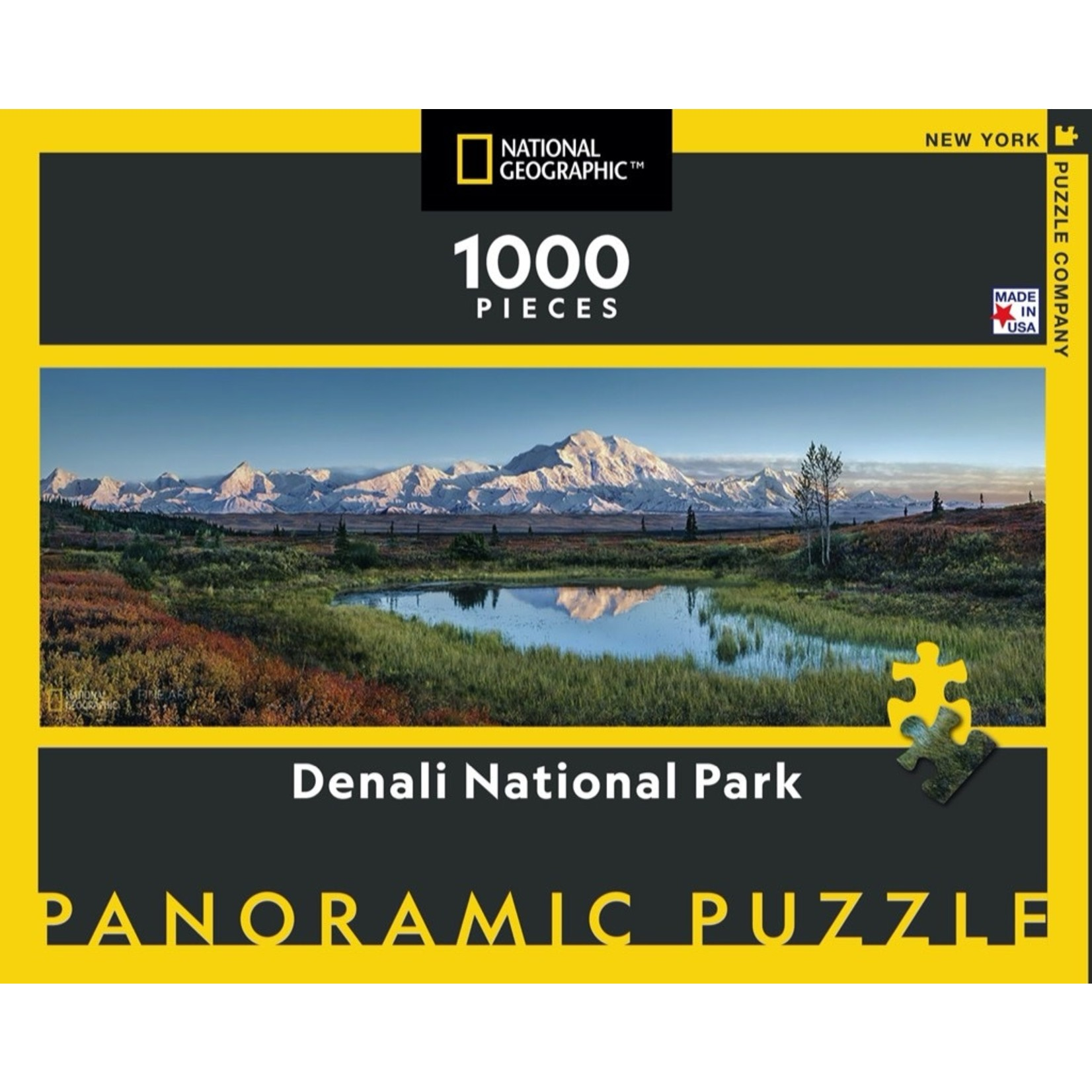 New York Puzzle Co Denali National Park 1000pc
