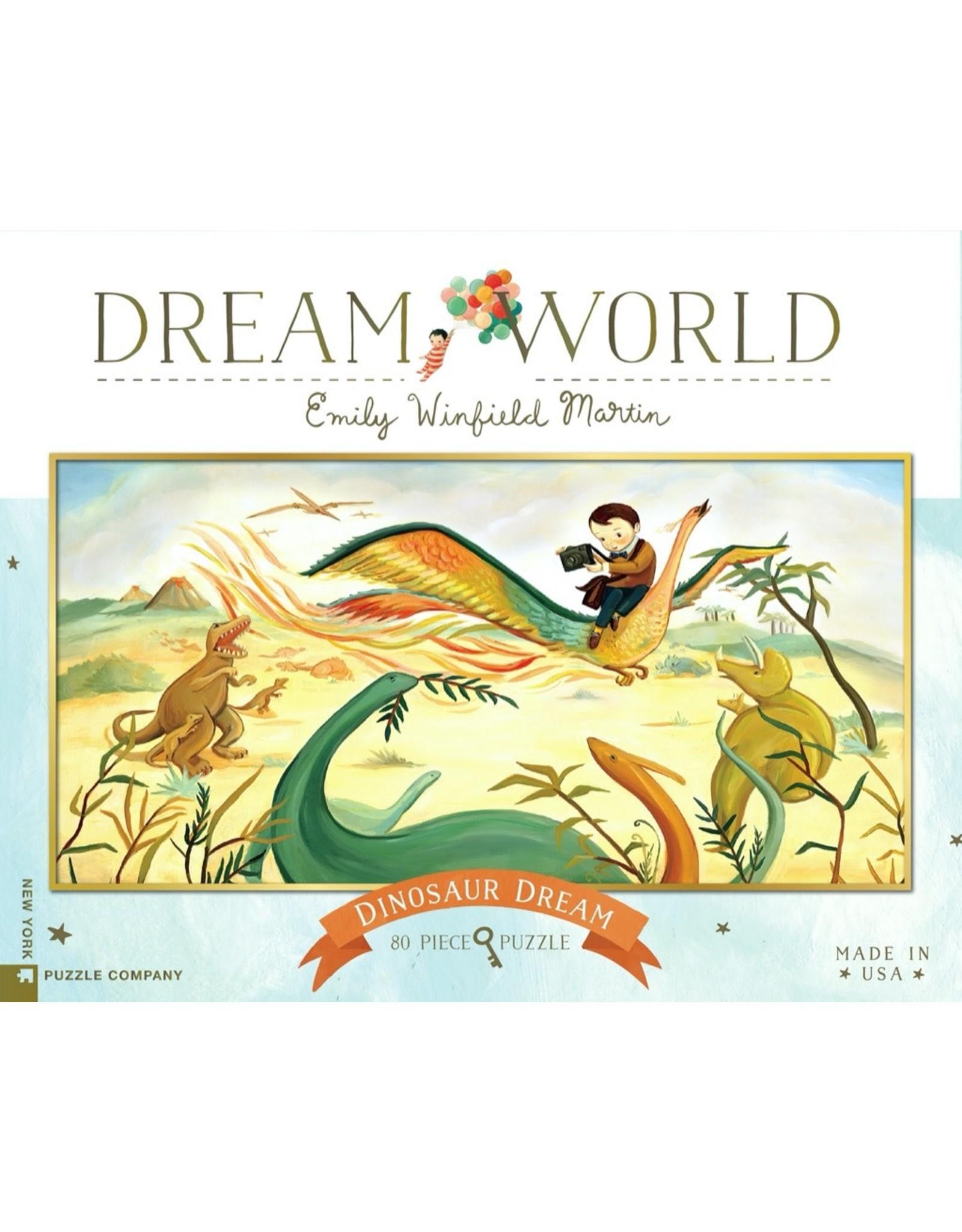 New York Puzzle Co Dinosaur Dream 80pc